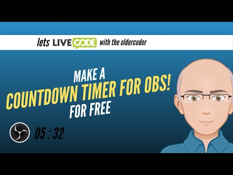 Coding a simple countdown timer in LiveCode for OBS