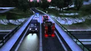Austrian Truck Simulator - Wien to Linz-pt2