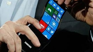Samsung Keynote @ CES 2013 - Youm flexible Displays OLED Display [HD] thumbnail