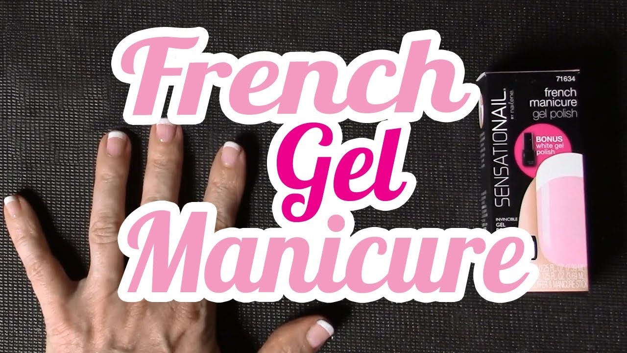 Youtube Sensationail French Manicure 115