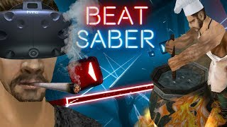 Kuchnia Snafa - Gothic Remix 'EXPERT' - Beat Saber (HTC VIVE VR)
