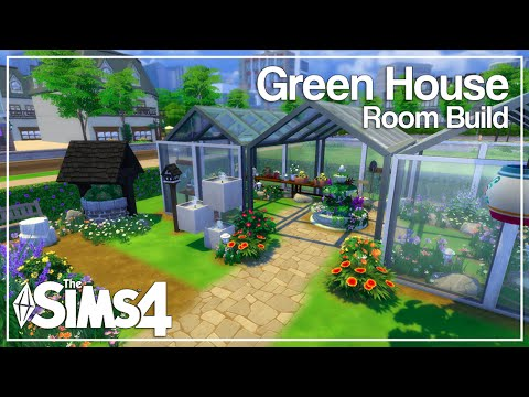 The sims 4 room build green house youtube for Build a green home