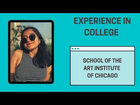 College Experiences : School of the Art Institute of Chicago