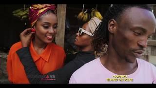 Walichofanya Barnaba na Vanessa Mdee wakati wanatengeneza video ya Chausiku.