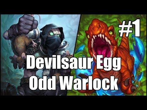 [Hearthstone] Devilsaur Egg Odd Warlock (Part 1)