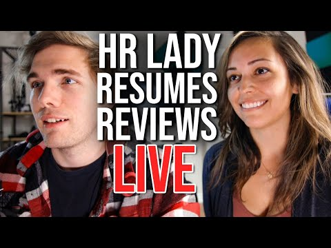 An HR Lady Reviews Your Resumes!   #grindreel