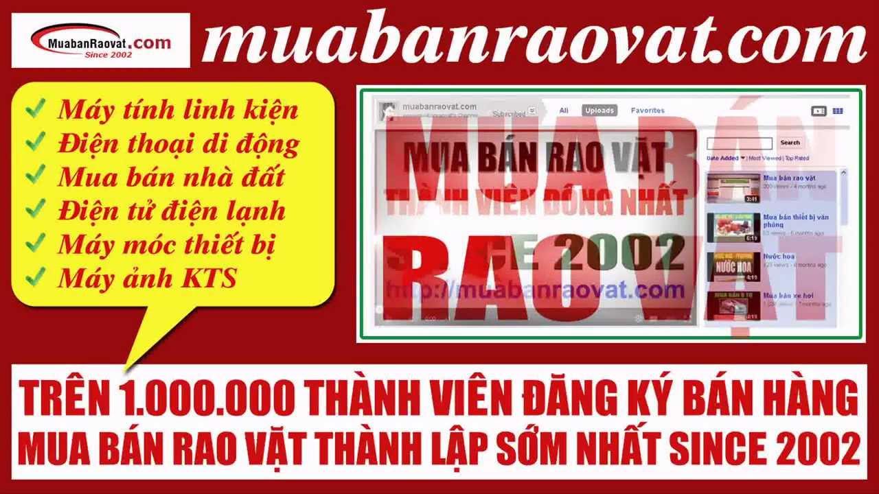 Mua bán rao vặt muabanraovat.com