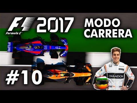 TRACTOR | F1 2017 Codemasters MODO TRAYECTORIA | #10 [DEMENCIAL 110%]