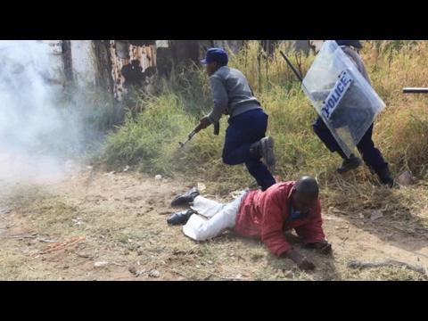 Zimbabwe - Harare - Latest Protests - Story covered by Irwin Chifera.
