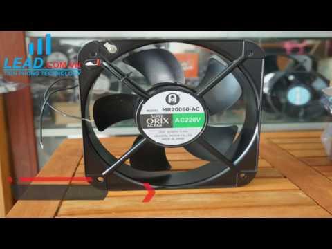 Review Quạt ORIX MR20060-AC, 220VAC, 200x200x60mm