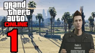 GTA 5: Online PC Gameplay HD - Claude Jr. - Part 1