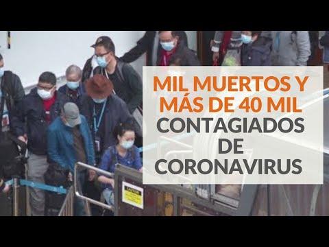 1.011 muertos y más de 42.200 contagiados de coronavirus en China