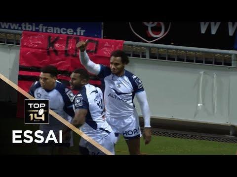 TOP 14 - Essai Benjamin FALL (MHR) - Oyonnax - Montpellier - J17 - Saison 2017/2018