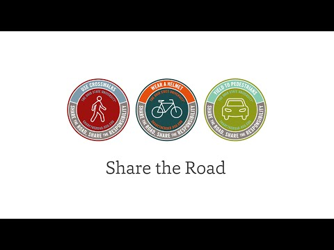 Let's All Share The Road