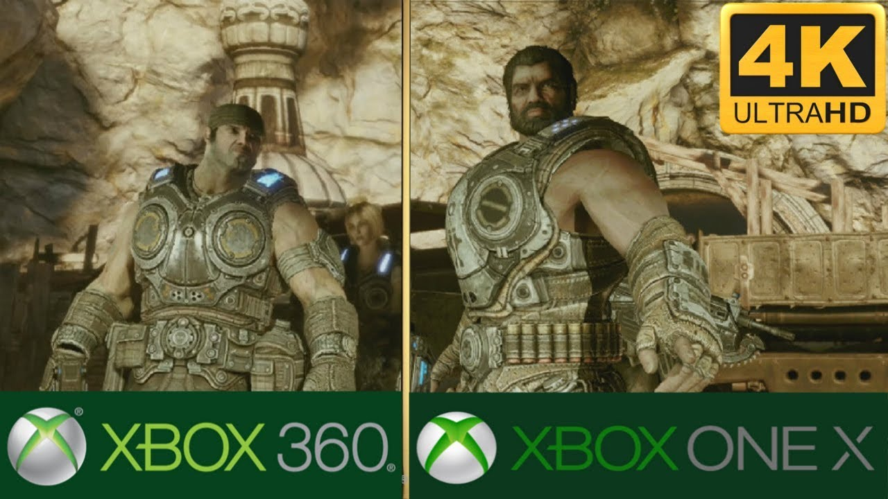 Gears Of War 3 : Xbox One X 4k Enhancement!!! : Xbox 360