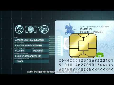 Идентификационная карта гражданина КР _ Биометрический паспорт гражданина КР _ EID Card