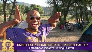 Omega Psi Phi Fraternity Inc. Pi Rho Chapter - Fatherhood Fishing Festival 2018