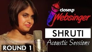 Sun Saathiya (Acoustic Cover Song) - ABCD 2 | Shruti Prakash | #CloseUpWebsinger