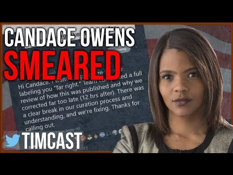 """Candace Owens Smeared as """"Far Right"""" by Twitter and the Media"""