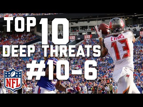 Top 10 Deep Threats Heading into the 2017 Season (#