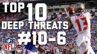 Top 10 Deep Threats Heading into the 2017 Season (#'s 10-6) | Burleson's Best | GMFB | NFL