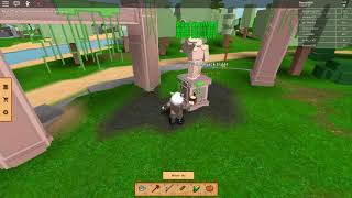 How to get the iron axe l Farm Life ROBLOX