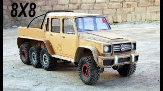 WOW! 8X8 Mercedes G Wagon || How to make Mercedes car with cardboard|| DIY|| Electric toy car