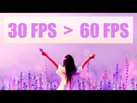 Как превратить 30FPS в 60FPS со стабилизацией - Гайд Premiere Pro CC как повысить фпс видео!