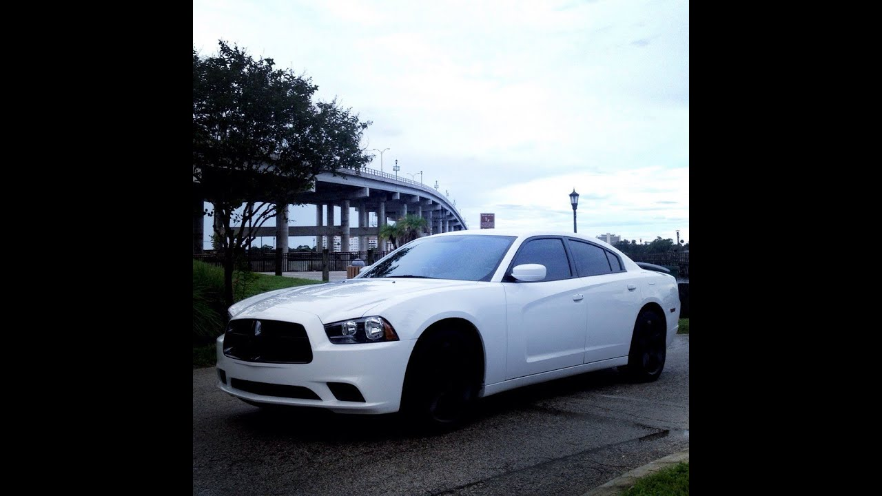 my custom 2012 dodge charger sehd youtube - Dodge Charger 2013 White Black Rims
