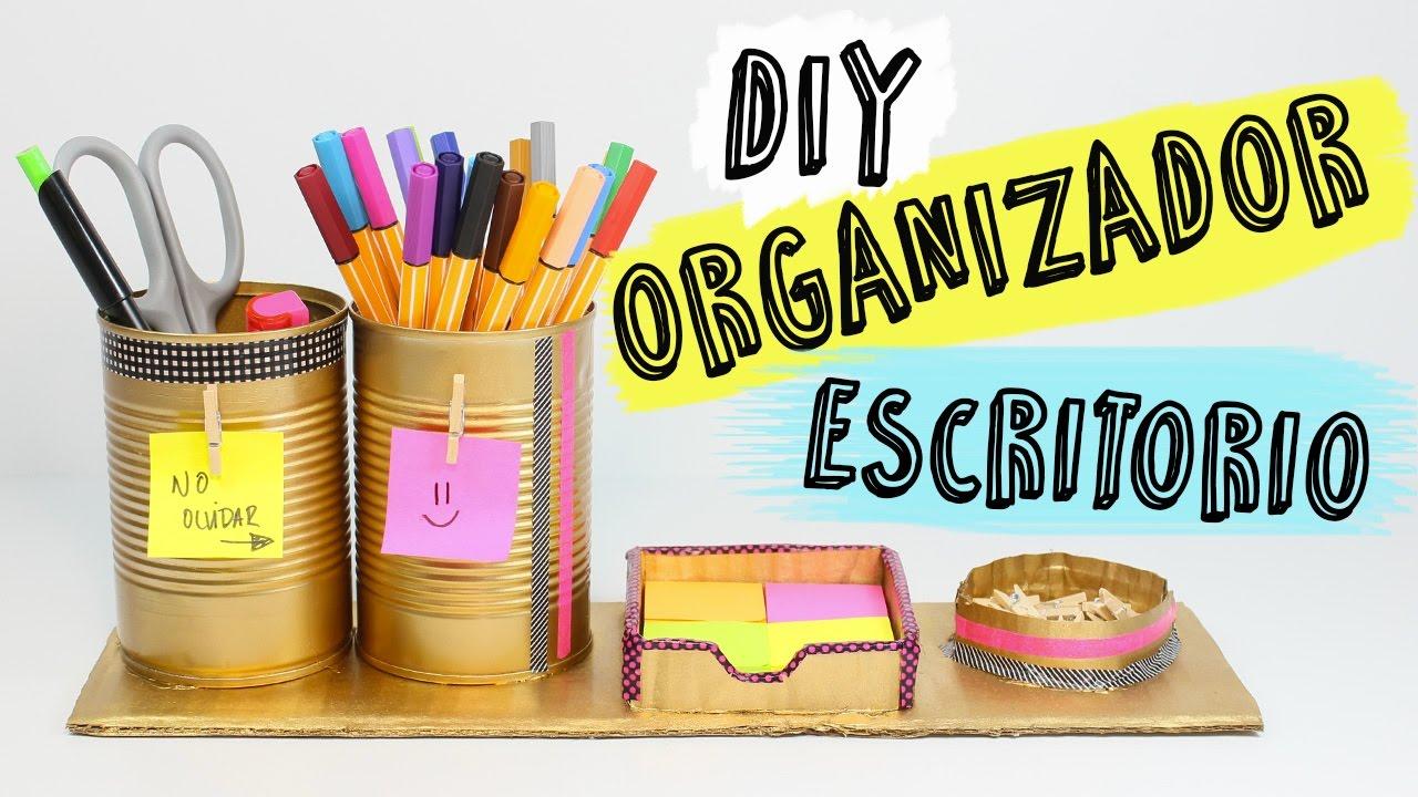C mo hacer un organizador de escritorio c mo hacer un - Organizador escritorio ...