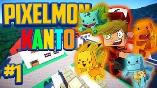 "Minecraft Pixelmon Kanto Edition ""Pallet Town!"" - Episode 1!"
