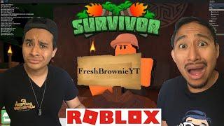 WE GOT VOTED OUT ON ROBLOX SURVIVOR | FRESH BROWNIE