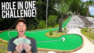 $17,000 Mini Golf Hole In One Challenge!