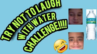 INSANE TRY NOT TO LAUGH WITH WATER IN OUR MOUTHS!! w/Angel