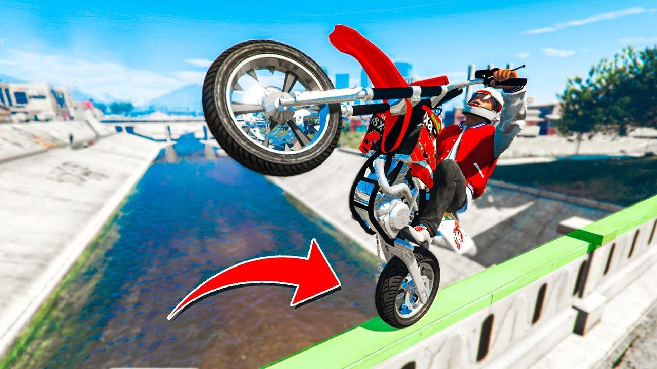Ultimate Real Life Bike Stunts Gta 5 Stunts Fails Youtube