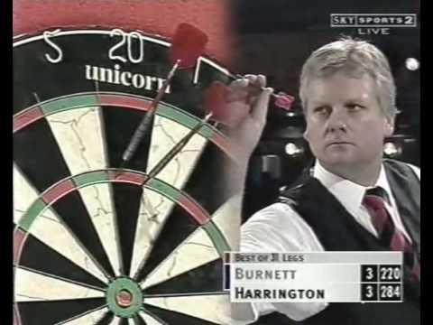 Rod Harrington vs Richie Burnett 2000 World Matchplay Quarter Finals Part 3