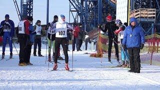 Наперегонки с ветром. Первенство ВСМПО по лыжным гонкам 17.02.2018