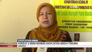 Menteri PPPA Kunjungi Anak Korban Eksploitasi