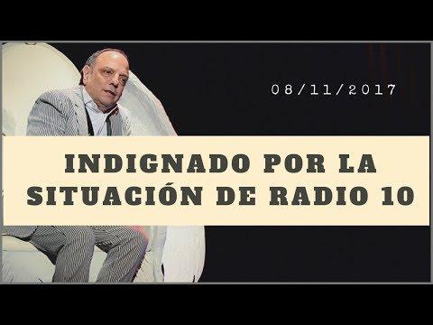Baby Etchecopar - Indignado Por La Situación De Radio 10