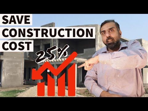 SAVE CONSTRUCTION & RENOVATION COST | Reduce cost of construction of house or building in Pakistan