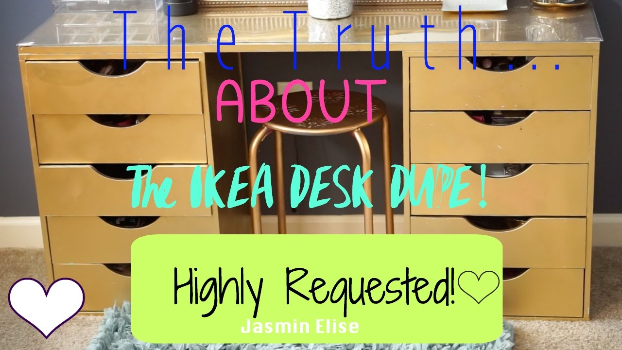 The Truth about the IKEA Alex Drawer Dupe