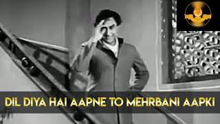 Pillar Of Indian Cinema Rajnarayan Dube | Dil Diya Hai Aapne | Movie Sangram | Lata | AshokKumar