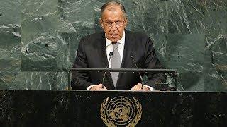 Итоговая пресс-конференция Лаврова на Генассамблее ООН. Полное видео