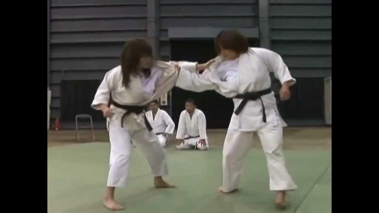 Woman Action Judo Sexy 101