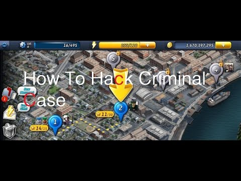 How To Hack Criminal Case Stars,Coins And Time Hack