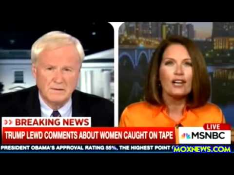 """Michele Bachmann Says Clinton Released Trump """"Pussy"""" Tape To Distract From New Email Dump!"""