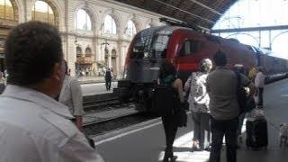 Hungary. Венгрия. Едем из Москвы на поезде на венгерскую дачу