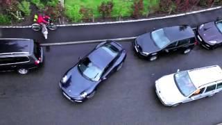 Парковка задним ходом. Porsche 911