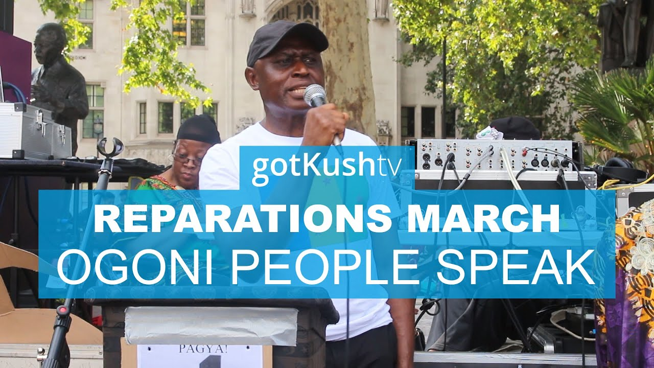 Niger Delta @ Reparations March 2019 UK • Lazurus Tamana