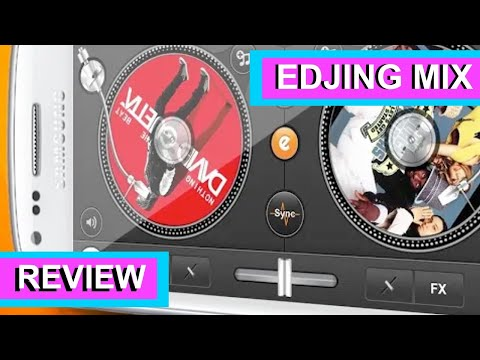 Review On edjing Mix - Free App For IPhone